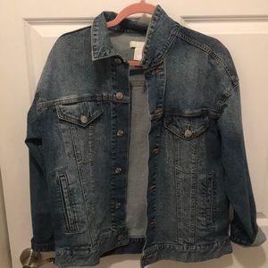 H&M denim jacket sz 12